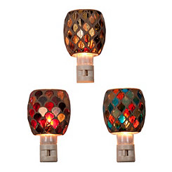 Glass Mosaic Tile Night Lights