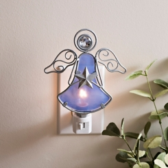 Birthstone Star Angel Night Lights