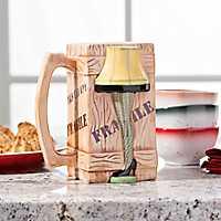 Christmas Story Leg Lamp Molded Ceramic Mug