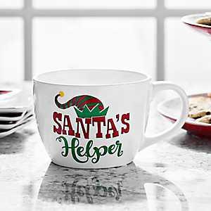 Santa's Helper Ceramic Mug
