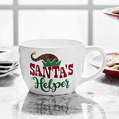 Santa's Helper Ceramic Mug
