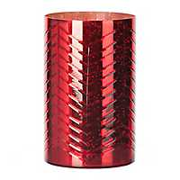 Etched Red Hurricane, 10 in.