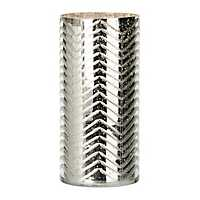 Etched Silver Hurricane, 10 in.