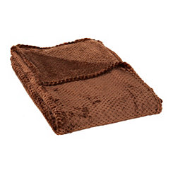 Chocolate Bubble Heavenly Throw Blanket