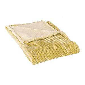 Yellow Bubble Heavenly Throw Blanket