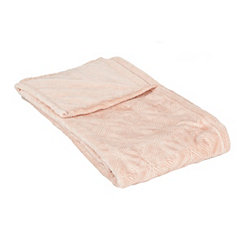 Rose Embossed Diamonds Blanket