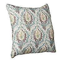 Printed Frost Medallion Pillow