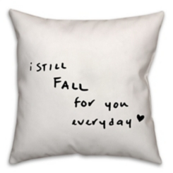 Fall For You Pillow