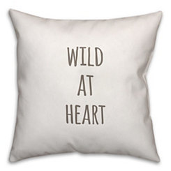 Wild At Heart Pillow