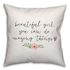 Amazing Things Pillow