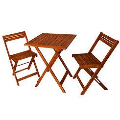 Oasis Wooden Bistro Set