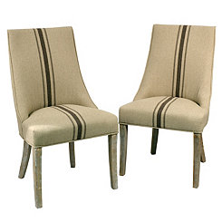 Melody Wright Side Dining Chairs, Set of 2