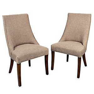 Olivia Wright Side Dining Chairs, Set of 2