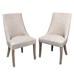 Ava Wright Side Dining Chairs, Set of 2
