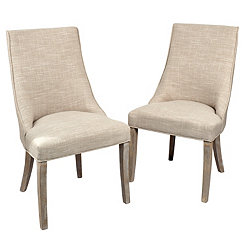Mia Wright Side Dining Chairs, Set of 2