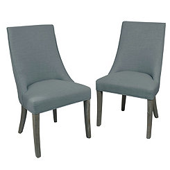 Charlotte Wright Side Dining Chairs, Set of 2