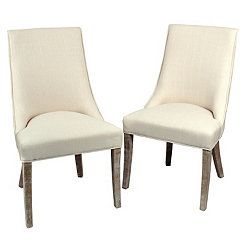 Amelia Wright Side Dining Chairs, Set of 2