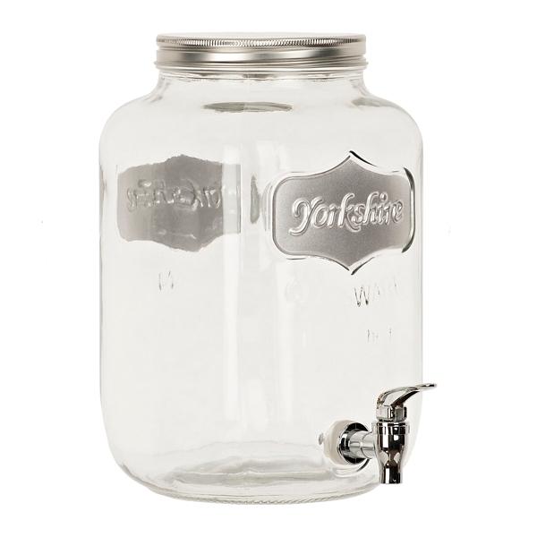 Silver Yorkshire Beverage Dispenser