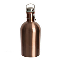 Stainless Steel Copper Growler, 64 oz.