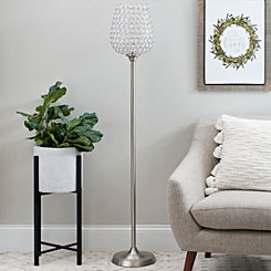 Crystal Beads Floor Lamp