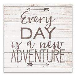 Every Day is a New Adventure Canvas Art Print