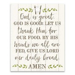 God is Great Canvas Art Print