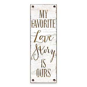 My Favorite Love Story Canvas Art Print