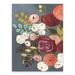 Wistful Bouquet Canvas Art Print