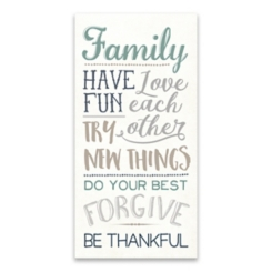 Family Have Fun Love Each Other Canvas Art Print