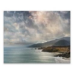 Calascibetta Getaway Canvas Art Print