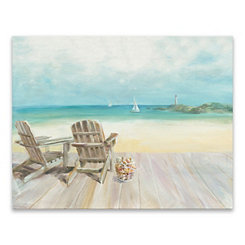 Seaside Morning Canvas Art Print