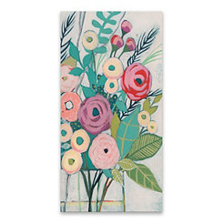 Soft Spring Bouquet Canvas Art Print