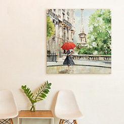 Paris Walk Canvas Art Print