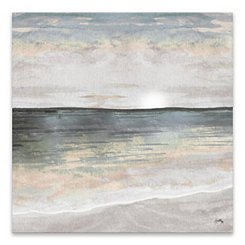 Cool Ocean Tones Canvas Art Print