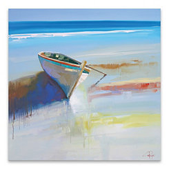 Low Tide Canvas Art Print