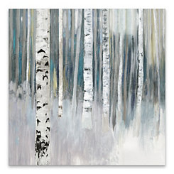 Birch Canvas Art Print