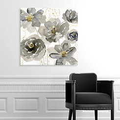 Sketching in Spring Canvas Art Print