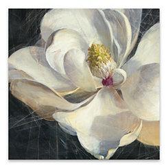 Vivid Floral Canvas Art Print