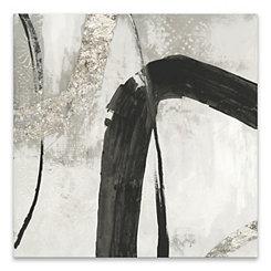 Black Ink Canvas Art Print