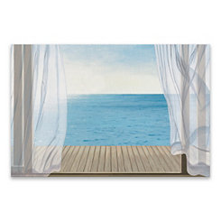 Blue Breeze Canvas Art Print