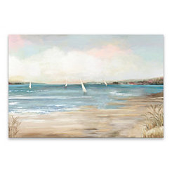 Pearl Shore Canvas Art Print