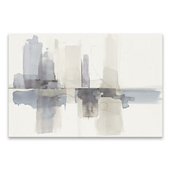 Gray Improvisation Canvas Art Print