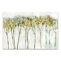 Marble Forest Canvas Art Print