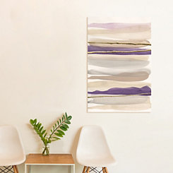 Gilded Amethyst Canvas Art Print
