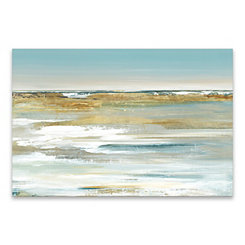 Blue Horizon Canvas Art Print