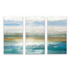 Beyond Dawn Canvas Art Prints, Set of 3
