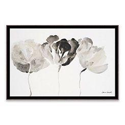 Trio in Light Framed Canvas Art Print