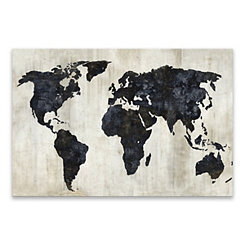 Stark World Canvas Art Print