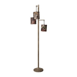 Mossy Oak Triple Camouflage Floor Lamp