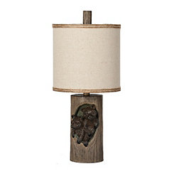Mossy Oak Bear Cubs Table Lamp